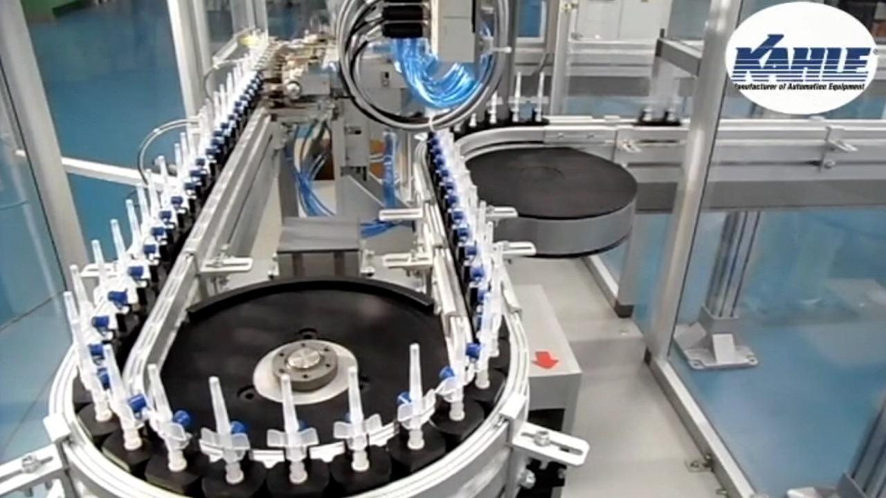 Kahle IV Catheter Assembly Line