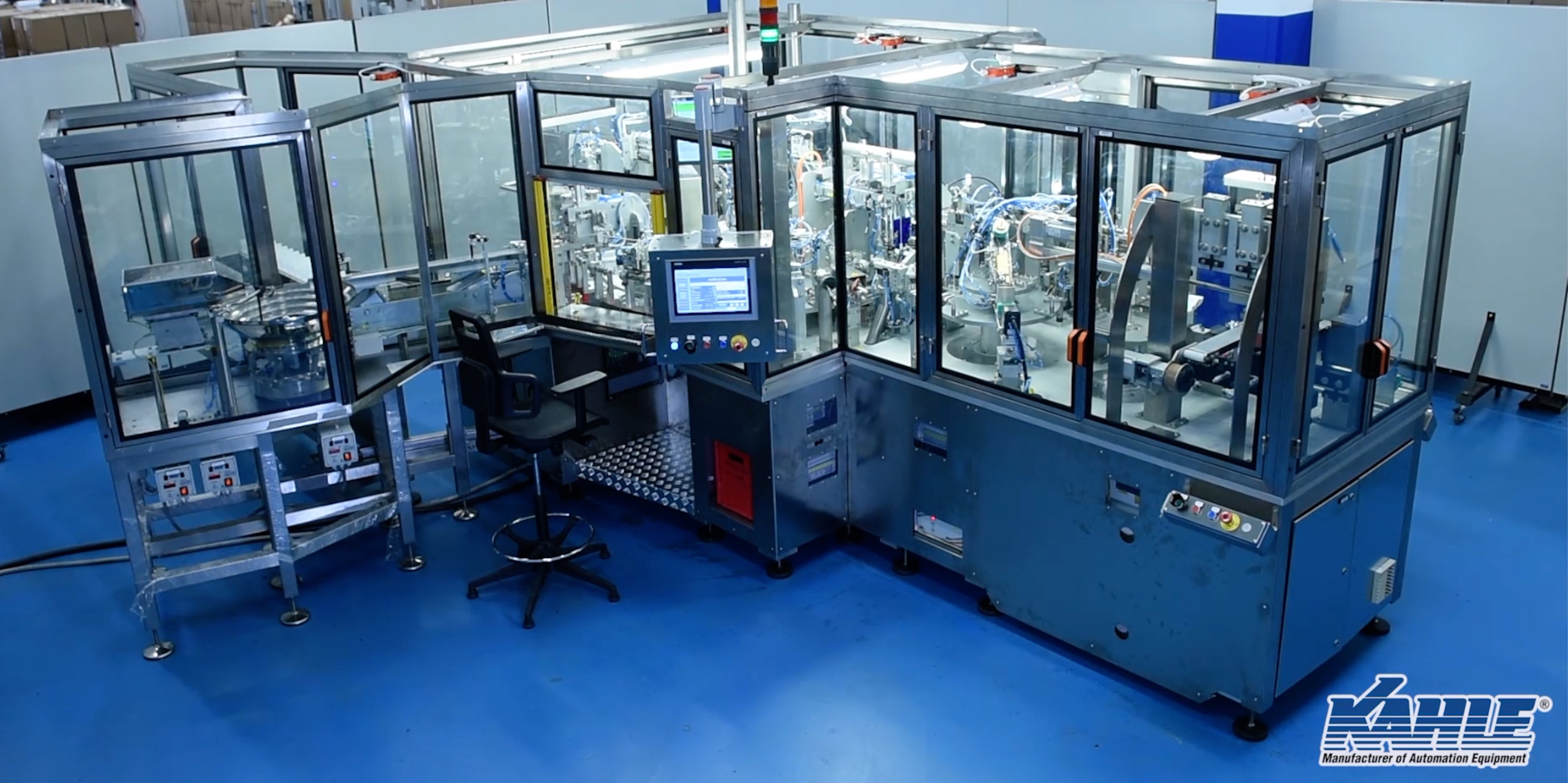 Kahle Indexing Assembly Machine