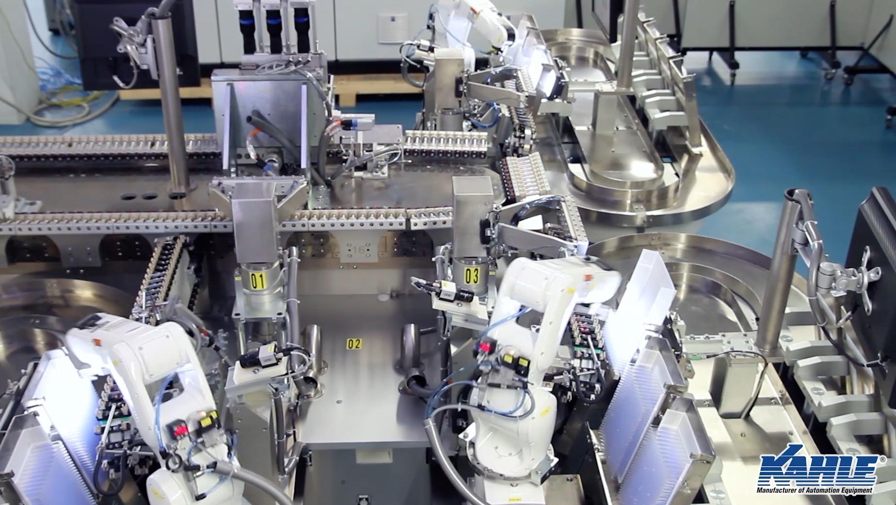 Kahle Robot Integration for Glass Feeding