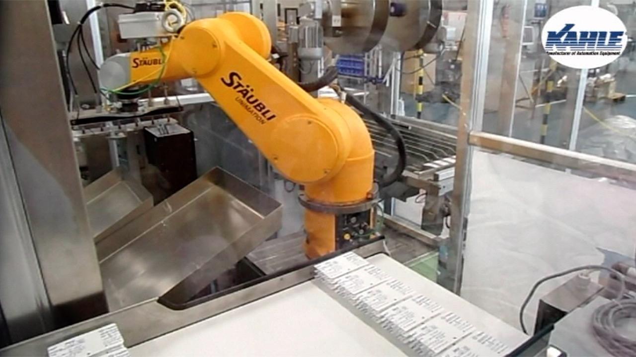 Kahle Robotic Pacakging Integration