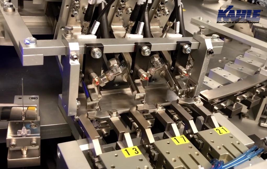 Kahle Safety Catheter Needle Assembly Machine