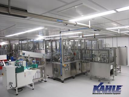 Kahle Machine Installed in a Clean Room