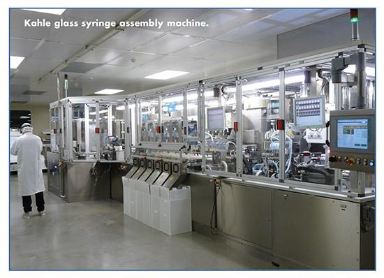 Kahle Glass Assembly Machine