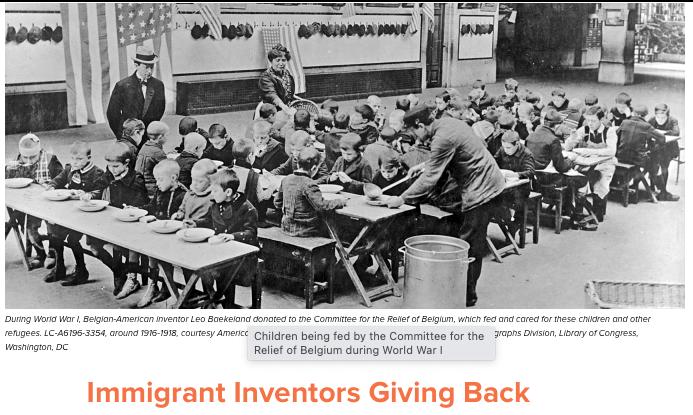 Immigrant Inventors Giving Back