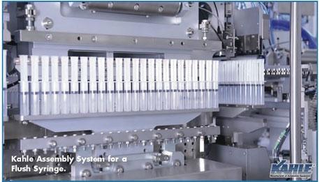 kahle assembly system for a flush syringe